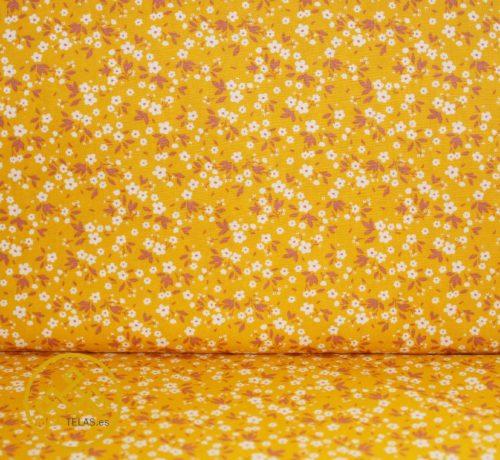 telas de flores, telas de algodón de flores, telas online flores