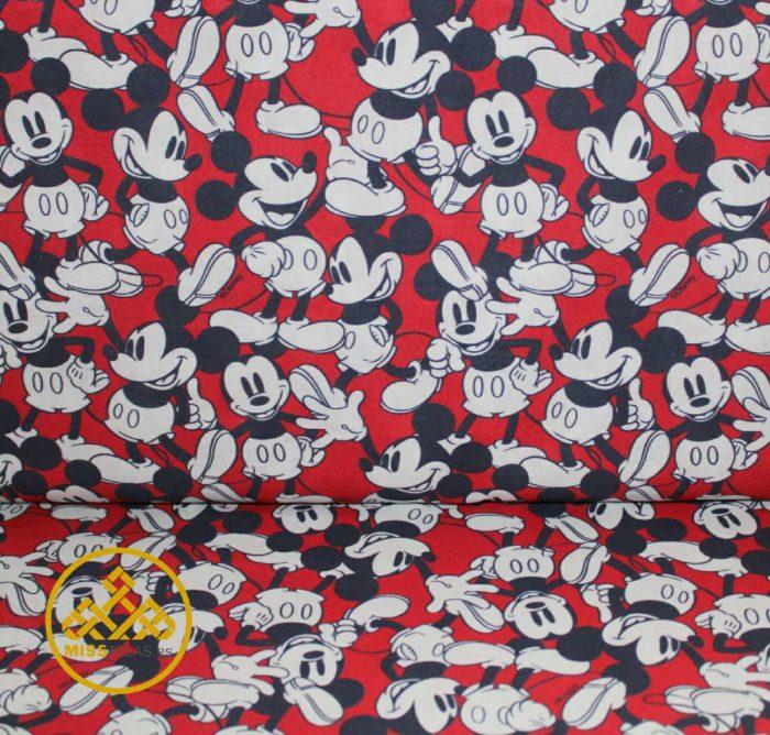 tela Disney, algodón infantil