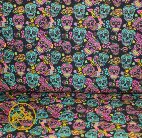 tela Catrinas, algodón catrinas online