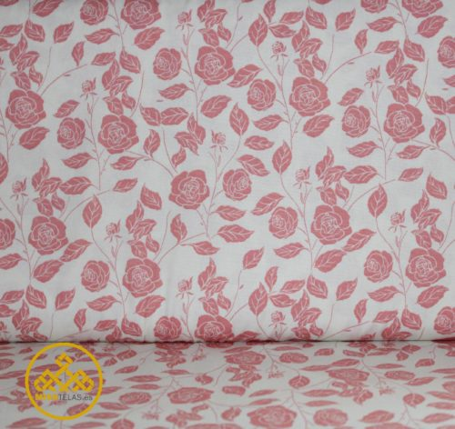 Tela flores, algodón flores, tela patchwork