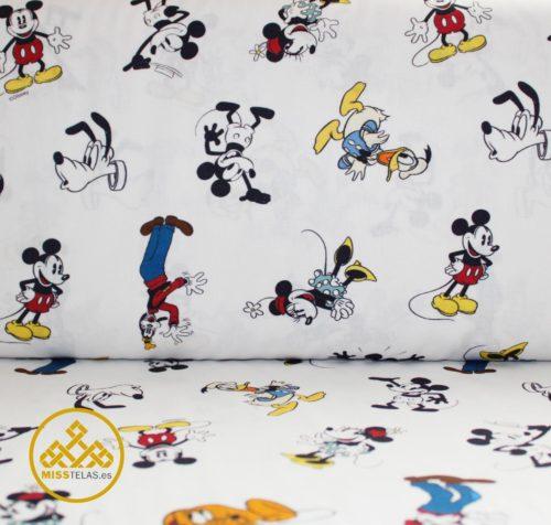 telas Disney, tela algodón Mickey