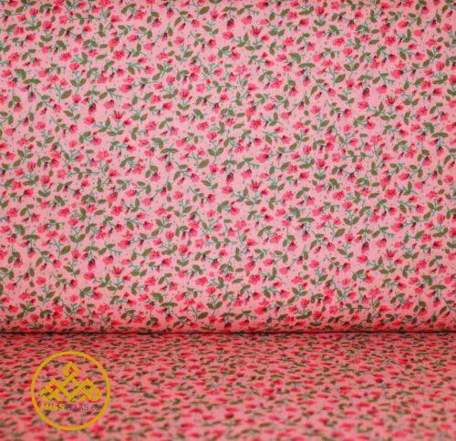 tela patchwork, algodón flores