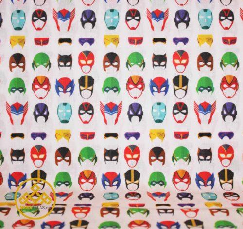 tela mascaras, tela de algodón infantil