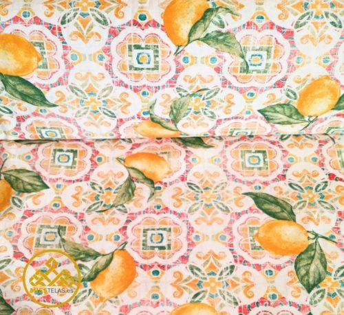 loneta estampado fruta