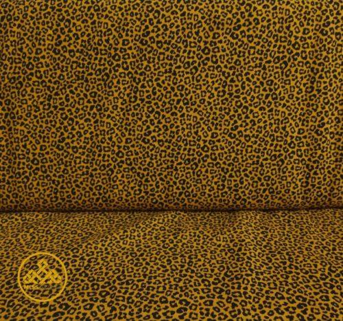 punto leopardo tela