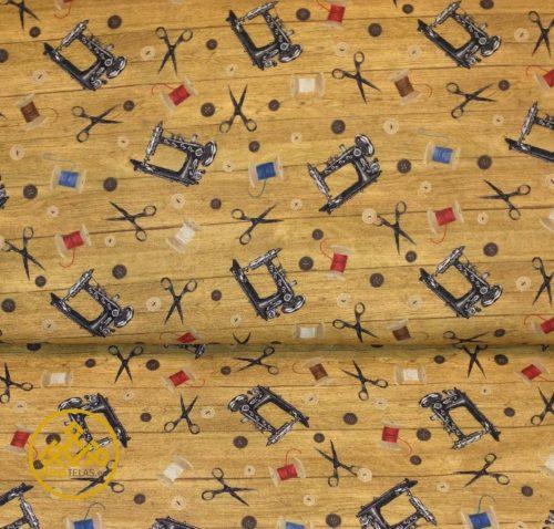 tela maquinas de coser algodón