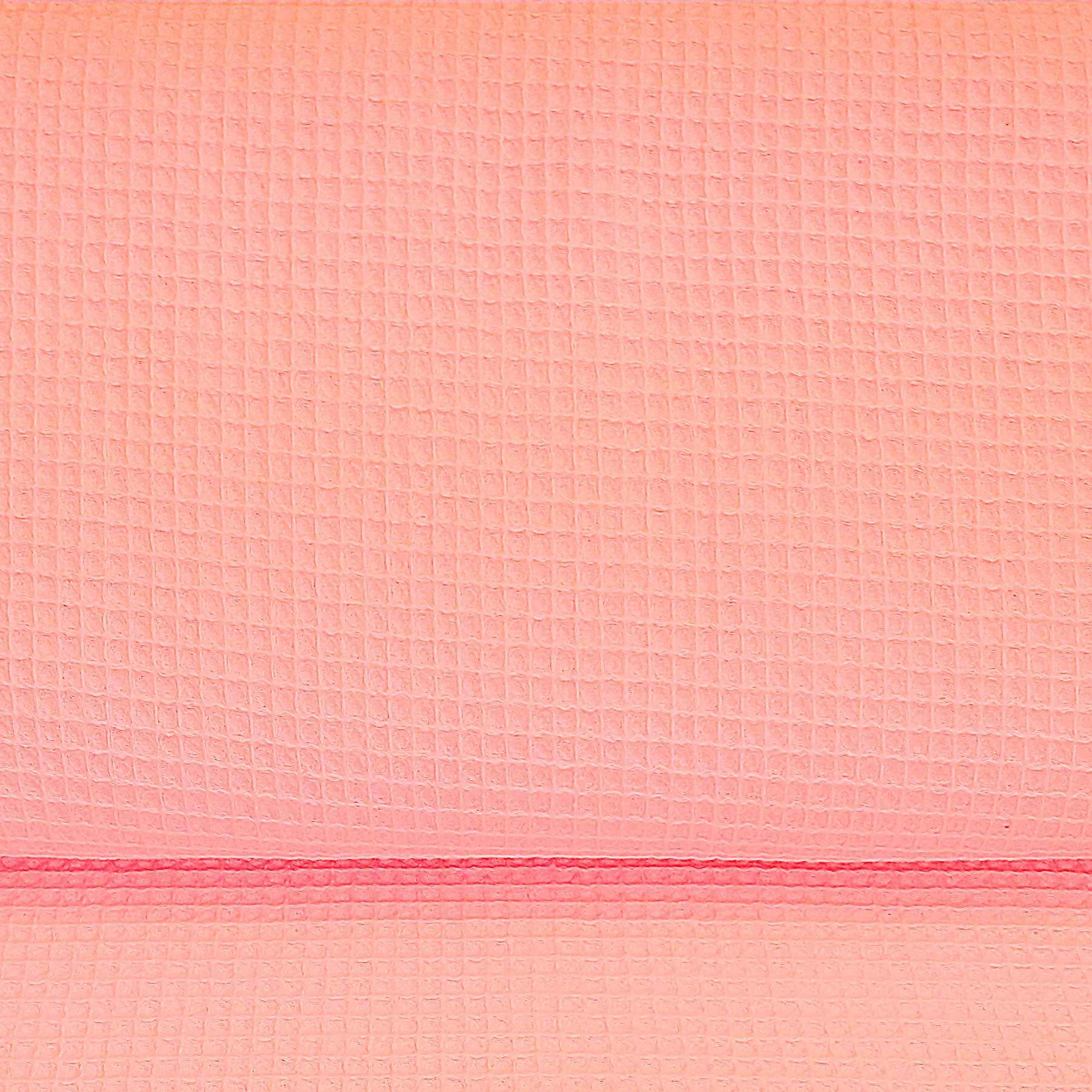 tela waffle color rosa